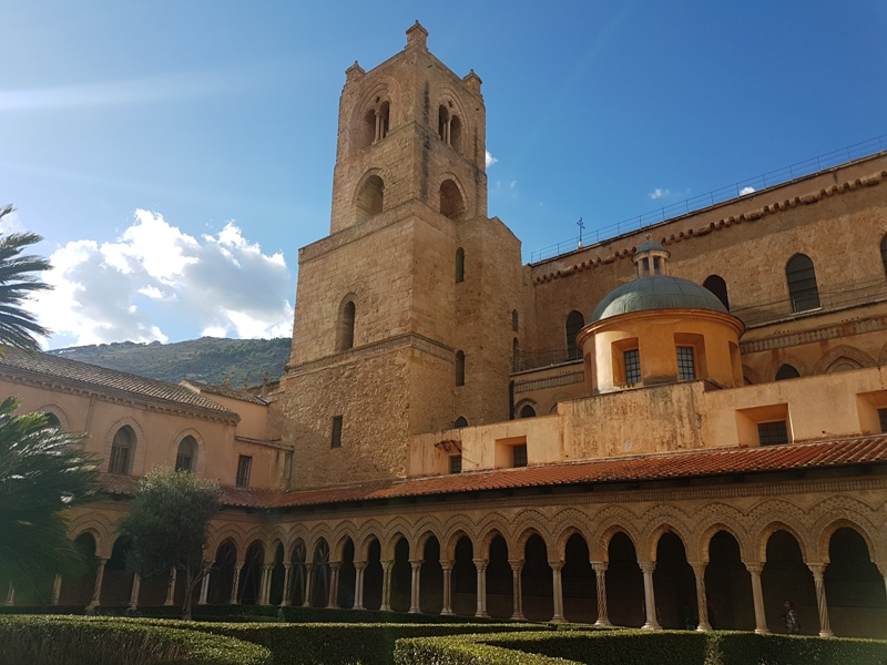 19. The cloisters, part of the Benedictine complex